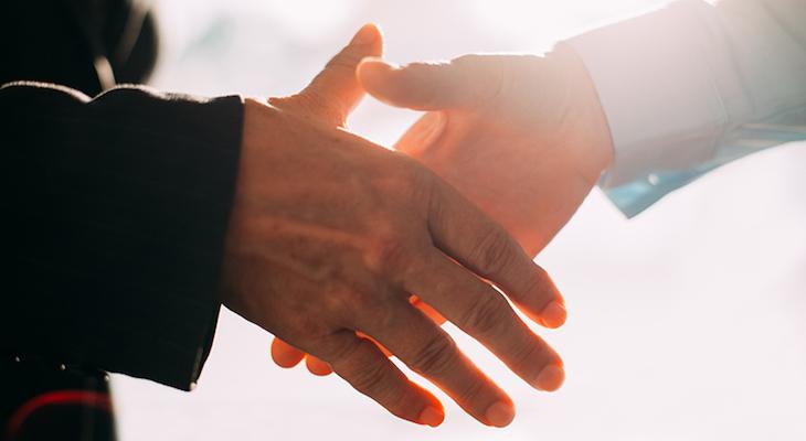 nlp handshake